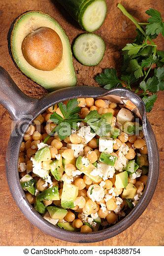 vegetable salad - csp48388754