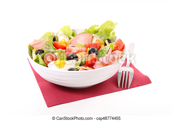 vegetable salad - csp48774455