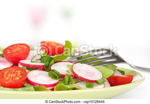 vegetable salad - csp10128444
