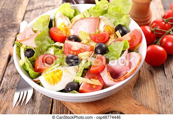 vegetable salad - csp48774446