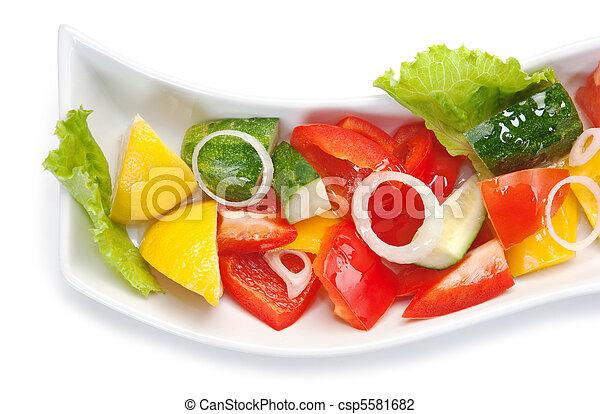Vegetable salad - csp5581682