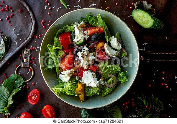 vegetable salad - csp71284621