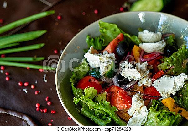 vegetable salad - csp71284628
