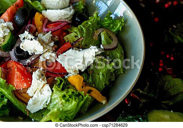 vegetable salad - csp71284629