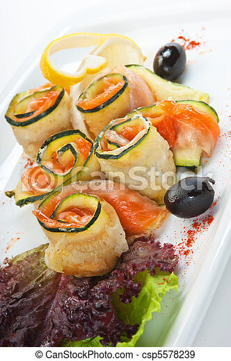 Vegetable salad - csp5578239