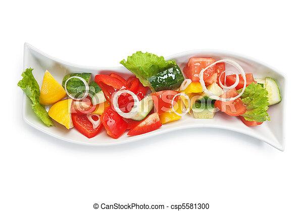 Vegetable salad - csp5581300