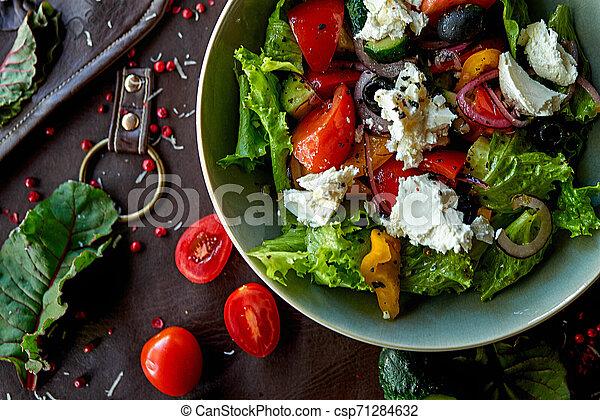 vegetable salad - csp71284632