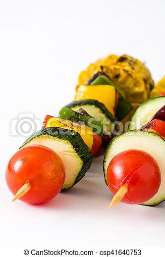 Vegetable skewers - csp41640753