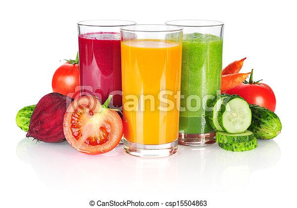 vegetable smoothie - csp15504863