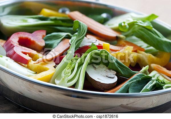 Vegetable stir fry - csp1872616