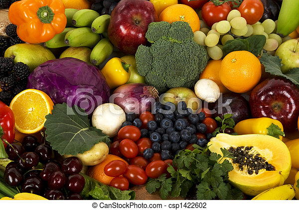 Vegetables and Fruits - csp1422602