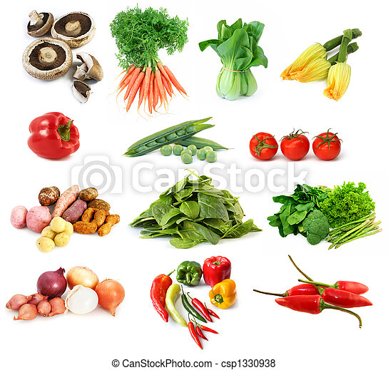 Vegetables Collection - csp1330938