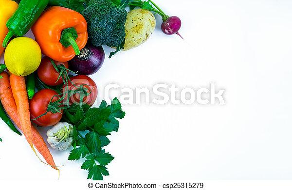 Vegetables - csp25315279