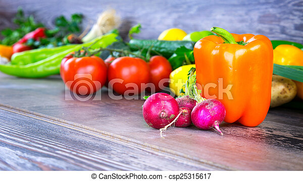 Vegetables - csp25315617