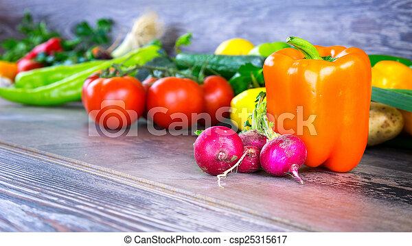 Vegetables - csp25315617