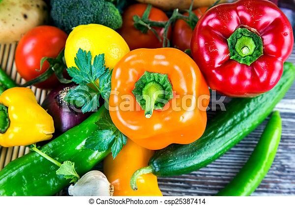 Vegetables - csp25387414