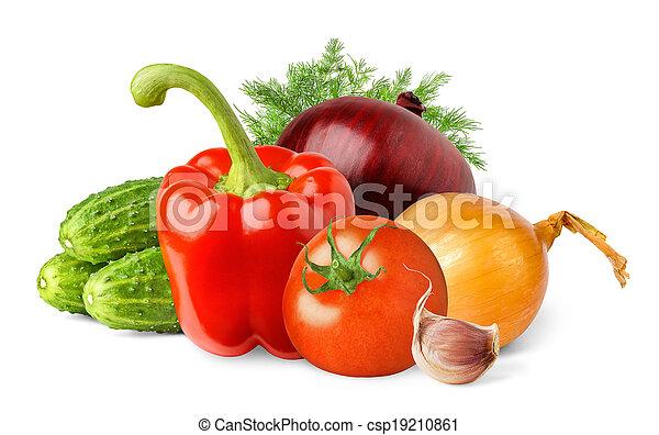 Vegetables - csp19210861