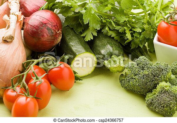 Vegetables - csp24366757