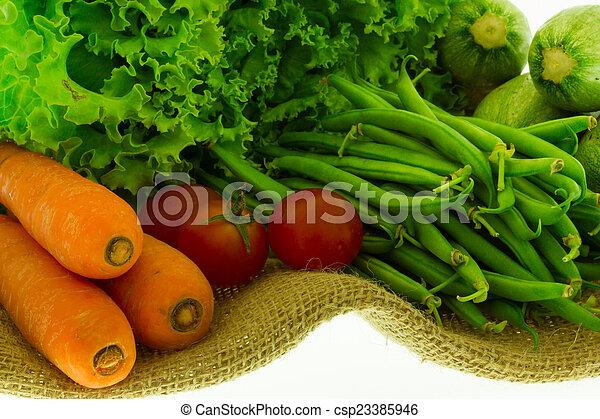Vegetables - csp23385946