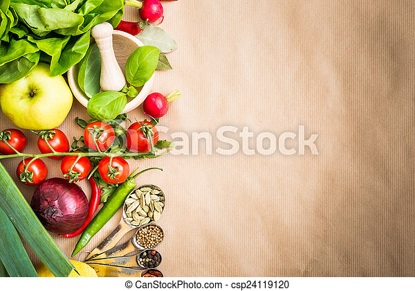 vegetables - csp24119120