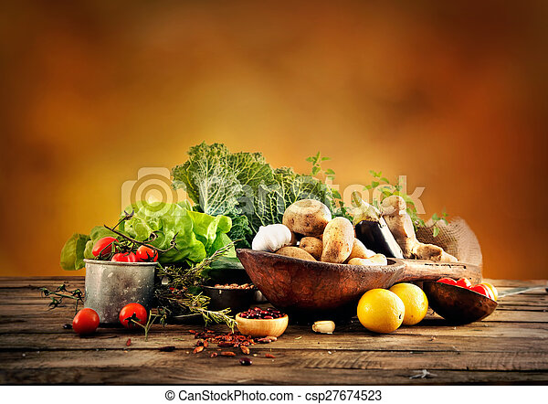 Vegetables - csp27674523