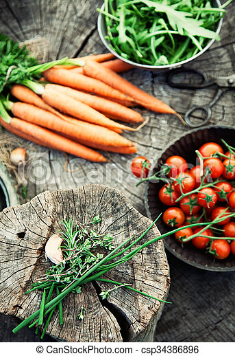 Vegetables - csp34386896
