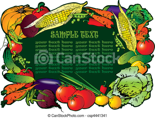 vegetables. - csp4441341