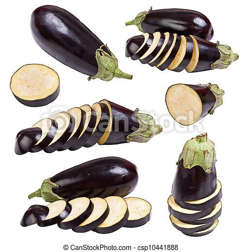 Prepara frutas vegetales de berenjenas - csp10441888