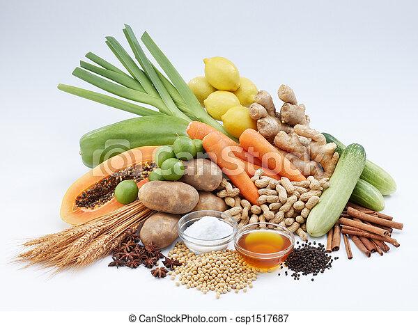 Verdura y frutas - csp1517687