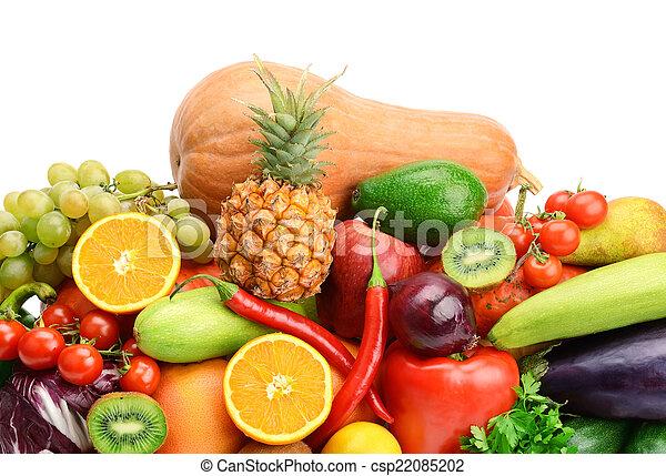 Fruta y verduras - csp22085202