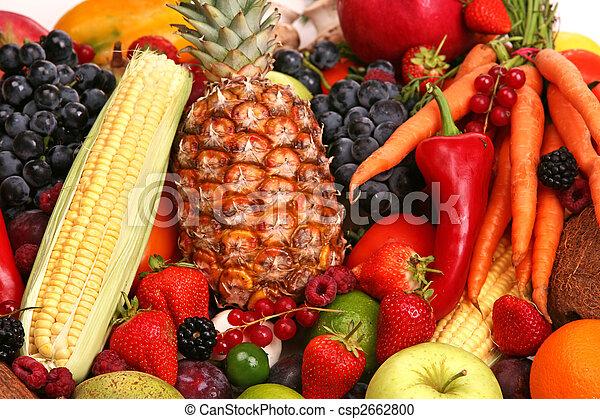 Fruta y vegetal - csp2662800