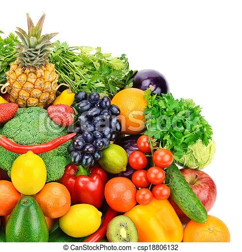 Fruta y verduras - csp18806132
