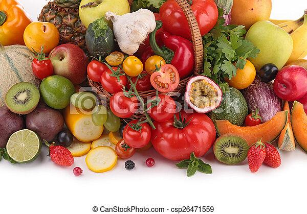 Fruta y verduras - csp26471559