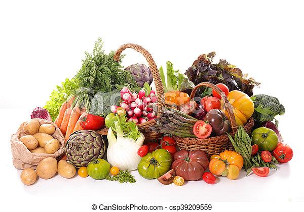 Fruta y verduras - csp39209559