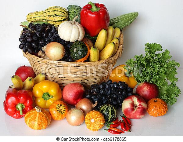 Fruta y vegetal - csp6178865