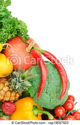 Fruta y verduras - csp19097923