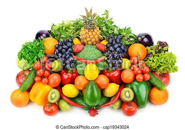 Fruta y verduras - csp19343024