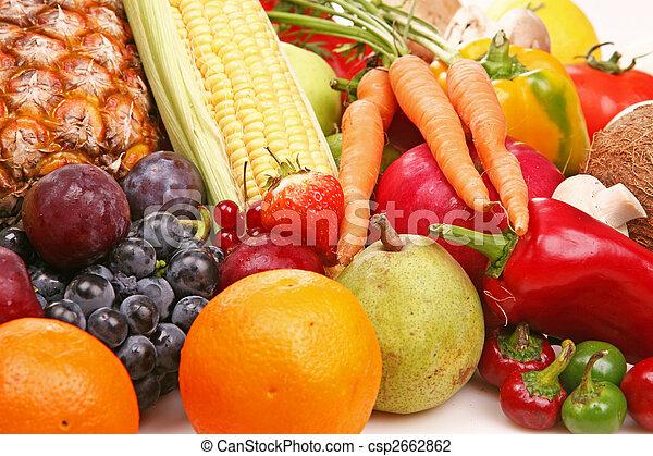 Fruta y vegetal - csp2662862