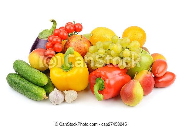 Fruta y verduras - csp27453245