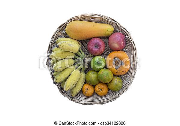 Fruta y verduras - csp34122826