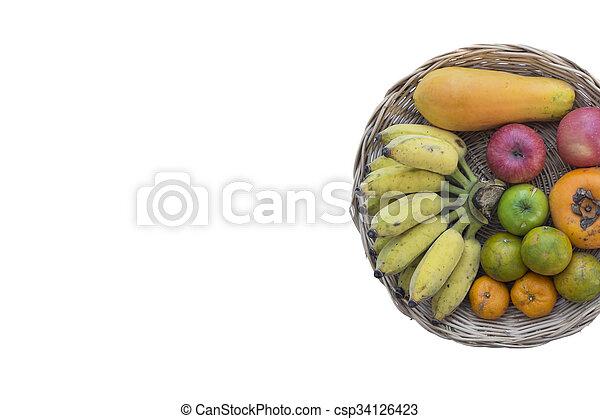 Fruta y verduras - csp34126423