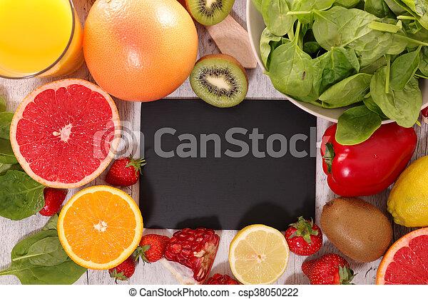 vegetal, fruta - csp38050222