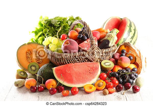 Fruta y verduras - csp64284323
