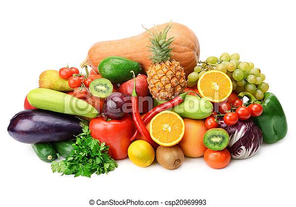 Fruta y verduras - csp20969993