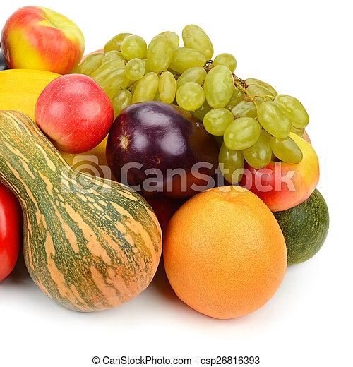 Fruta y verduras - csp26816393