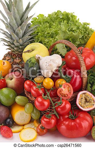 Fruta y verduras - csp26471560