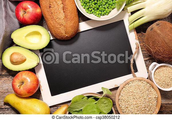 Fruta y verduras - csp38050212
