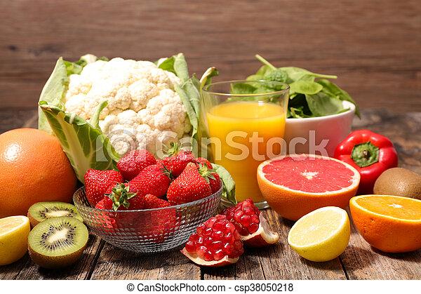 vegetal, fruta - csp38050218