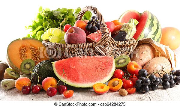 Fruta y verduras - csp64284275