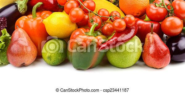 Fruta y verduras - csp23441187